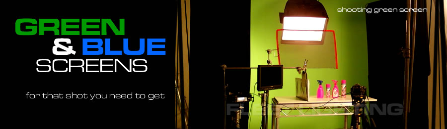 The Fleet Lighting Equipment - Green and Blue Screens